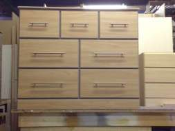 3-2-2 split chest of drawers in our factory before delivery